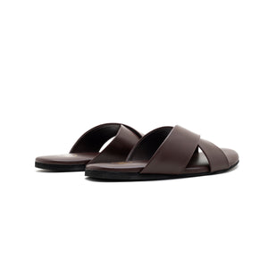 Voss Cross Strap Flipflop - Brown
