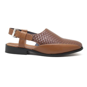 Avola Braided Sandals - Tan