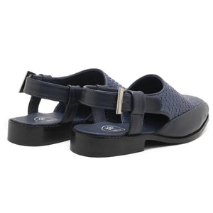 Avola Braided Sandals - Blue
