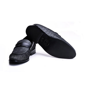 Bruges Double Monk Slip Ons- Brown
