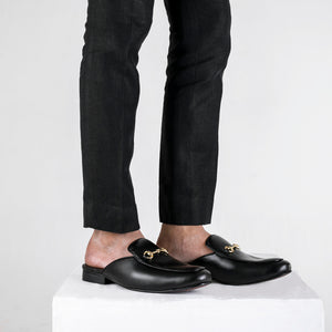 Rees Mule Shoes - Black
