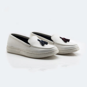 Alter-Ego Slip-On Sneakers - White