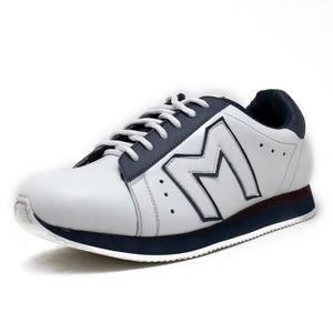 """M""  Monkstory Iconic sneakers - White/Blue"