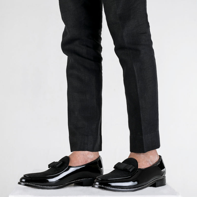 Delta Belgian Loafers - Black