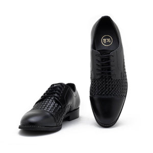 Vardo Captoe Oxford Shoe - Black