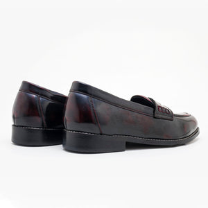Boise Penny Loafers - Cherry
