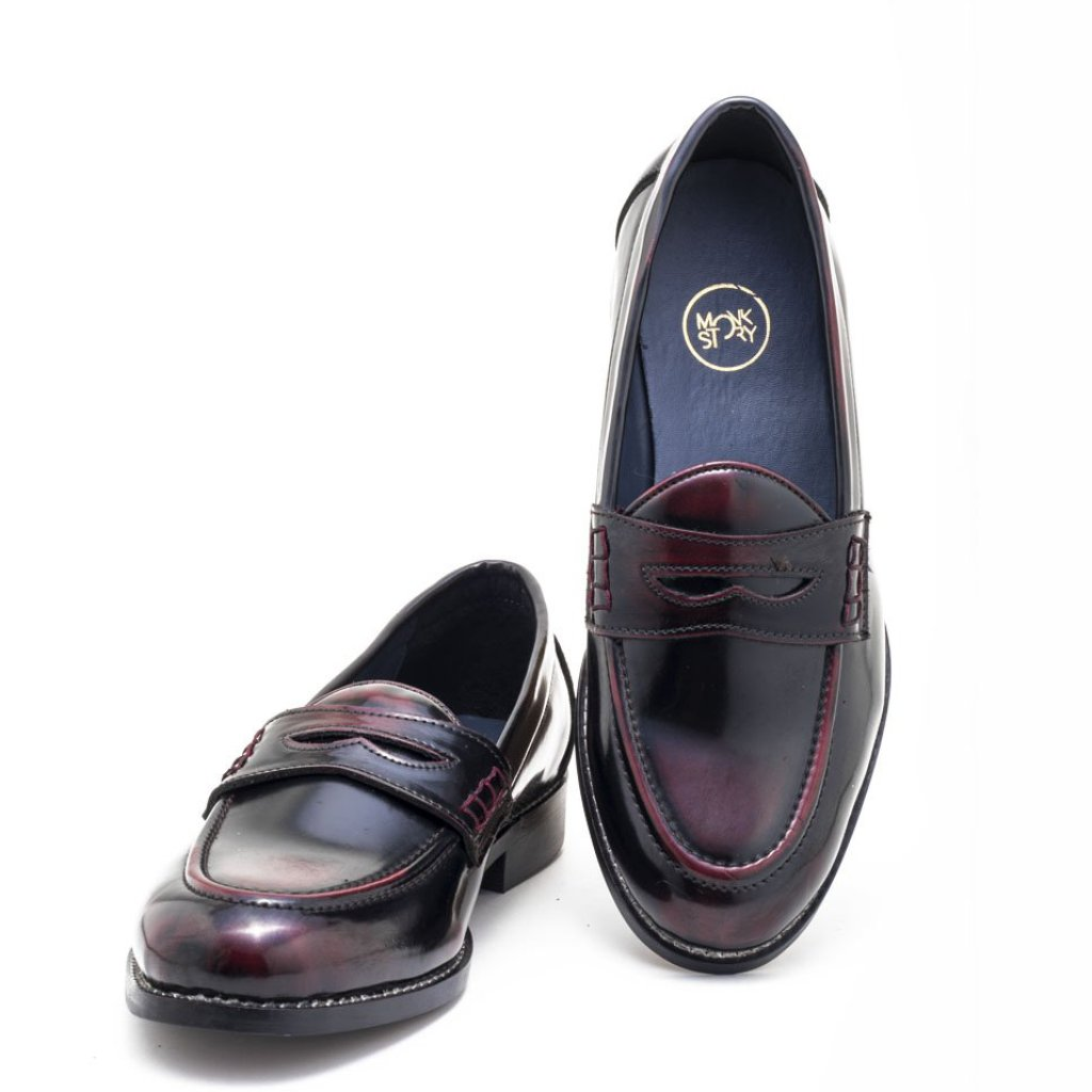 621f73c46b7 Boise Penny Loafers - Cherry
