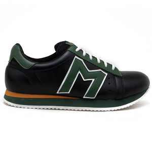 """M""  Monkstory Iconic sneakers - Black/Green"