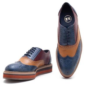 Beverly Tricolour Brogues