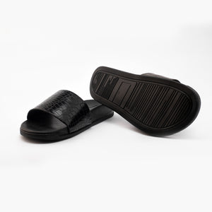 Krokodyl Sliders - Black