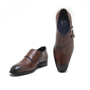 Merano Double Monk - Brown