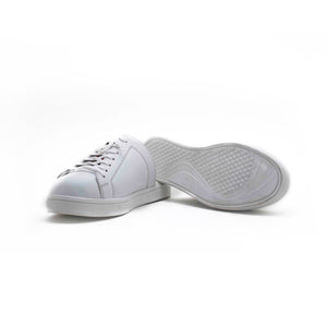 Split Mule Sneakers - White