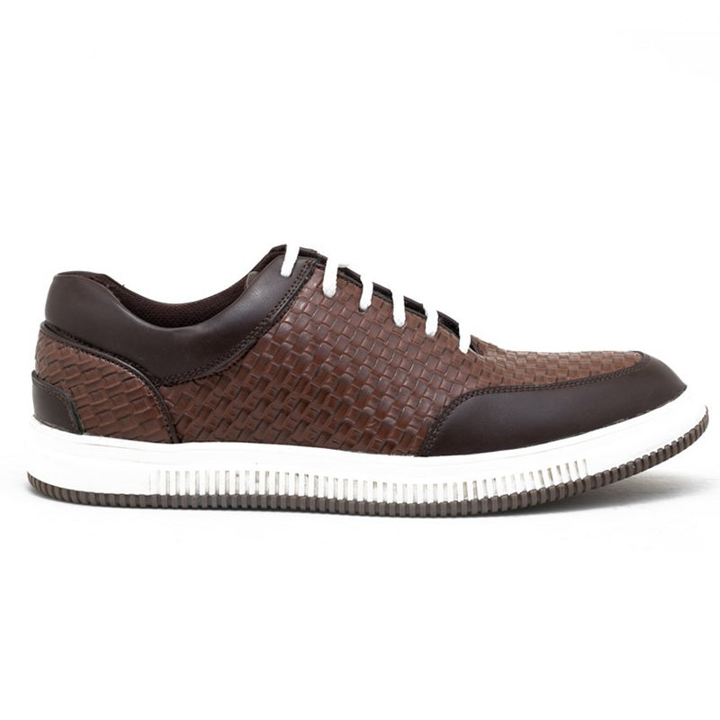 Tucson Braided Sneakers - Brown