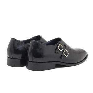 Merano Double Monk - Black
