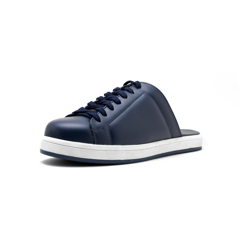 Split Mule Sneakers - Blue