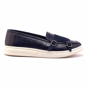Krokodyl Double Monk Sneakers - Blue