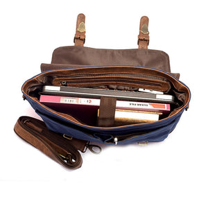Bags - Bloomingdale Messenger Bag- Blue