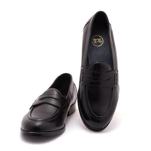 Shoes - Boise Penny Loafers - Black