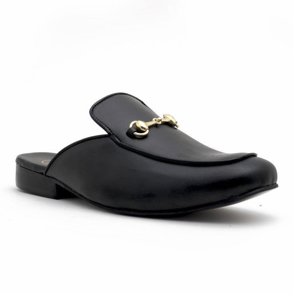 Shoes - Rees Mule Shoes - Black