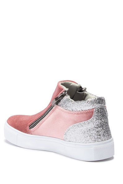 Zipper High Top - Pink