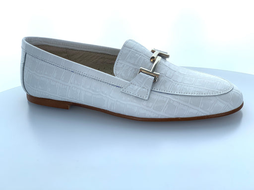 Lea's Chain Slip-On  - White