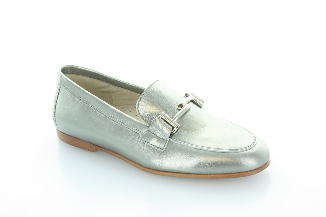 Lea's Chain Slip-On  - pewter