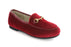 Maya's Chain Loafer - Red Velvet
