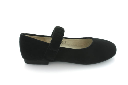 Emma's Elastic Mary Jane - Black Velvet