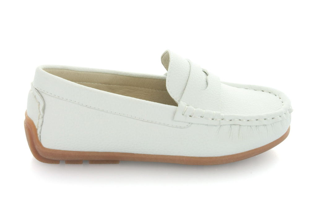 Dakota's Loafer - White