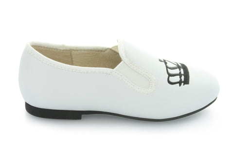 Drew's Crown Slip-On - White