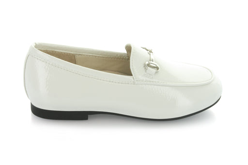 Maya's Chain Loafer - Cream