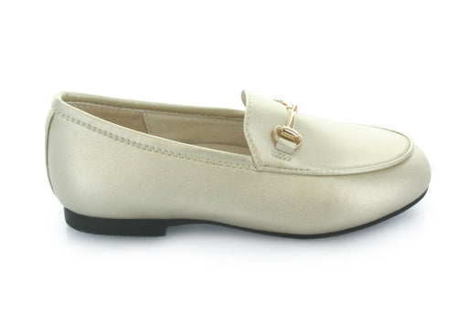 Maya's Chain Loafer - Gold