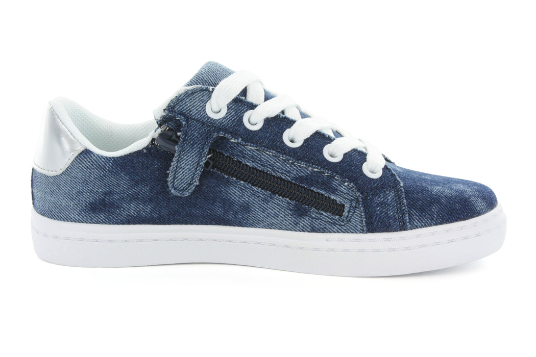 Mia Star Lace Sneaker - Denim