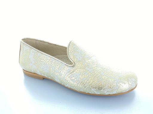 Jamie's Smoking Shoe  - Gold marbled print