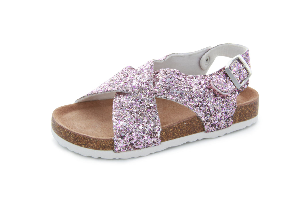 Ivy Criss Cross Sandal - Crushed Pink