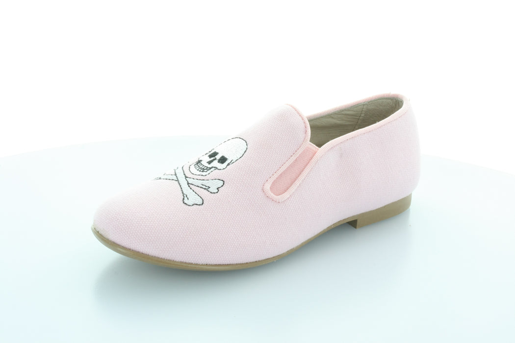 Malky Skull Smoking Shoe - Pink