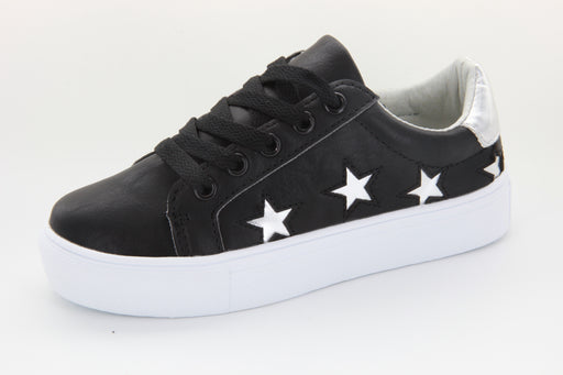 LOBO's All Star sneaker - Black / Silver