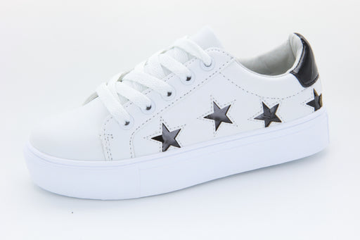 LOBO's All Star sneaker - White / Black