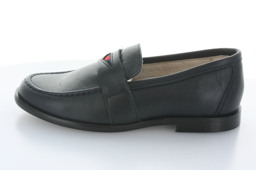 Boys Dress Penny Loafer - Navy