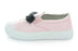 Charlie Monster Fur Slip-On Sneaker - Pink