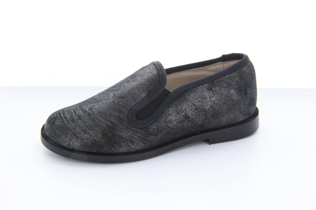 Charlie's Smoking Shoe - Pewter Marble Metallic