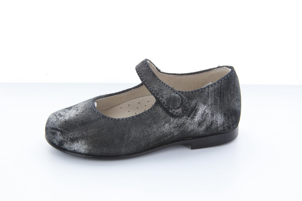 Hoova's Mary Jane - Pewter Marble Metallic