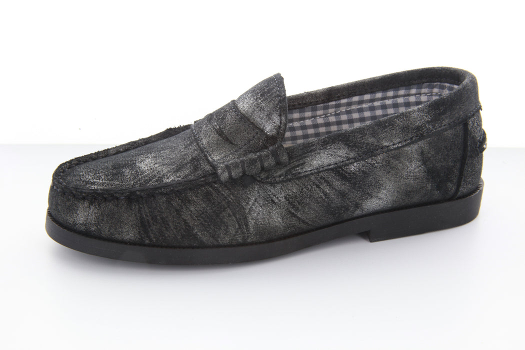 Mark's Loafer - Pewter Marble Metallic
