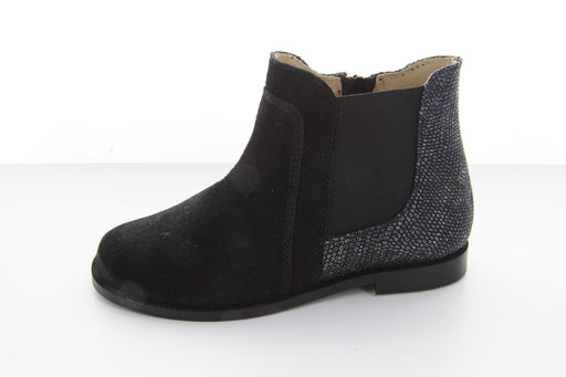Chloe's Ankle Boot - Black / Blue
