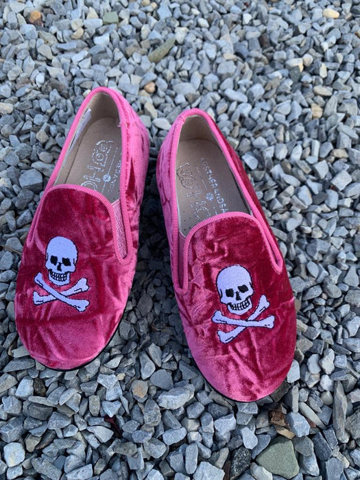Barron Skull Smokng Shoe - Pink
