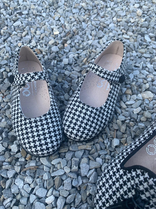 Cookie Mary Jane - Houndstooth