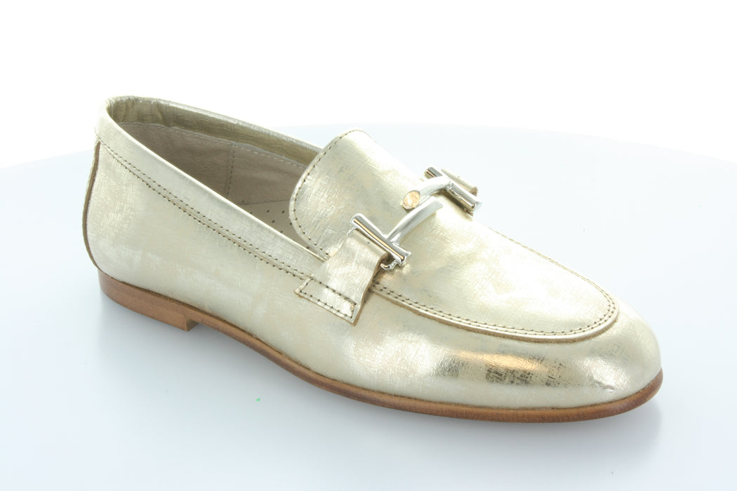 Lea's Chain Slip-On  - Gold Print
