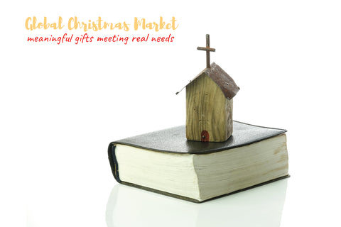 "GIFT Postcard - ""BIBLE CHURCH"""