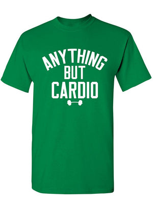 Manateez Men's Anything But Cardio Tee Shirt