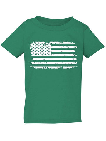Manateez Infant Tattered American Flag Tee Shirt